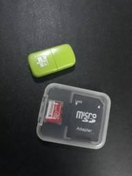 Cartão de memória 256GB + brinde