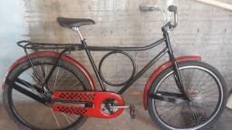 Bicicleta monark top quadro de tubo antigo sem trinca