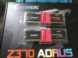 Memórias DDR4 16 Gigas 2x8