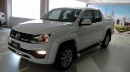 VOLKSWAGEN AMAROK CD TRENDLINE 4MOTION 2.0 BI-TDI AT Branco 2017/2018