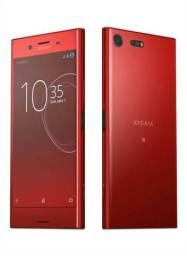 Celular Sony Xz Premium G8142 vermelho Lacrado + Capa + Película