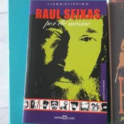 Livros e DVD Raul Seixas