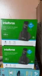 Telefone Intelbras sem Fio com Identificador de Chamadas TS40ID