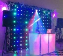 Cortina de led DJ