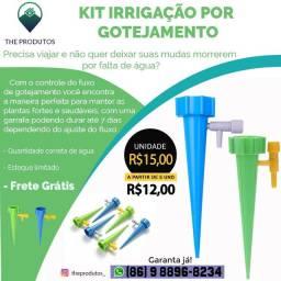 Kit irrigação por gotejamento