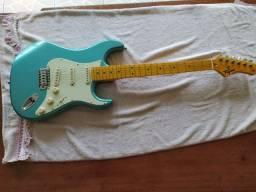 Guitarra Stratocaster Tagima Tg 530 Azul Pastel