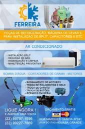 Conserto de Bombas, Cortadores de Grama e Motores