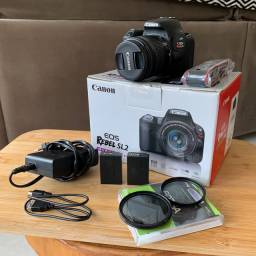 Kit Canon SL2 (estado de nova)