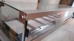 Estufa 10 bandejas 220v - Luxo - Prata