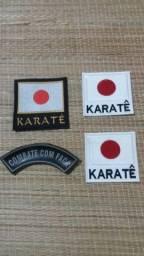 Artes Marciais Bordado para Kimono de Karatê