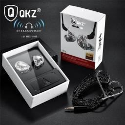 Fone profissional p/ retorno de palco QKZ VK1 entrega grátis em 24 horas