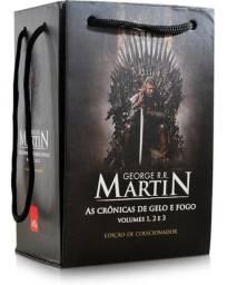 Coleção Game of thrones - 5 volumes Box colecionador