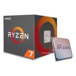 Amd Ryzen 7 2700 3.2ghz (4.1ghz Turbo) 8-cores 16-threads