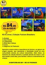 KIT 6 LIVROS | COLEÇÃO FOLCLORE BRASILEIRO