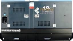 Grupo Gerador 55 Kva - NOVO - Silenciado/Automático -Tecmax Geradores