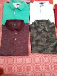 Camisas e camisetas masculinas