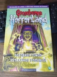 Goosebumps Horrorland socorro! Temos estranhos Poderes!