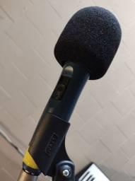 Microfone Áudio Técnica Mk1 Seminovo c/ Cabo