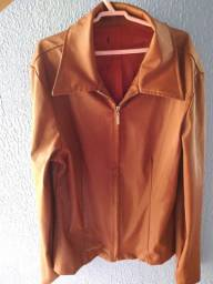 Jaqueta feminina marrom
