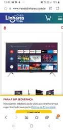 Vendo tv nova semp.toshiba smart led por 1199,00