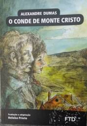 Livro O conde de monte Cristo FTD 2014 (Osasco/SP)