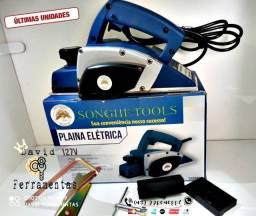 "Plaina Eletrica 750w 110v ""NOVA"""