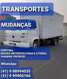 @Fretes @Mudanças Curitiba e região