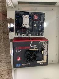 Kit peças gamer i7 - 16gb - gtx 950