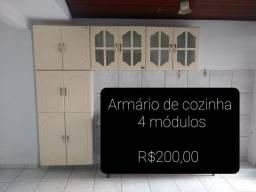 Armário de Cozinha com 4 módulos