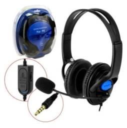Fone de Ouvido (Headphone) Gamer com Microfone