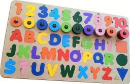 Tabuleiro Educativo Montessori Completo