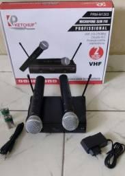Título do anúncio: Microfone sem fio profissional
