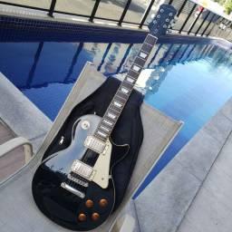 Epiphone Les Paul Standard 60's Ebony Black - Vendo / Troco
