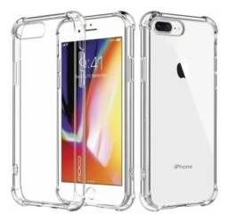 Capinha Anti Impacto Silicone TPU iPhone Todos Modelos