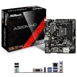 Placa-mãe p/ AMD (Oportunidade- ler toda a descrição)