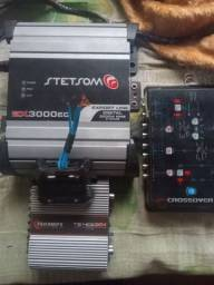 Módulos ts400/crossover/ Stetsom/ medidor de bateria