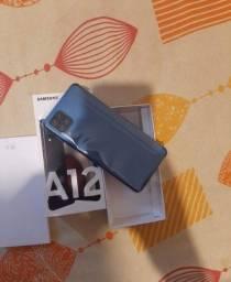 Samsung na caixa A12 64 GB whatsapp *