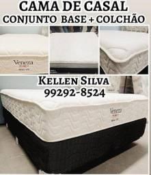 Título do anúncio: cama casal -direto da fabrica - promoção $$