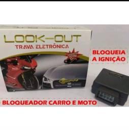 Bloqueador de carro e moto