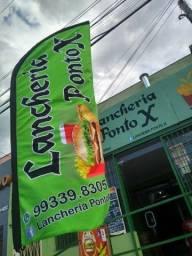 Título do anúncio: Vende-se Ponto de Lancheria completa