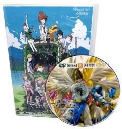 Box Dvd Digimon Adventure Tri Completo 6 Filmes