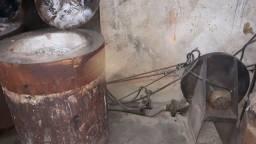 Fundição de alumínio a diesel sob pressão ar comprimido
