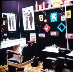 Vende-se Cadeira de Barbeiro Ferrante