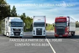 Caminhão Baú através do Parcelamento!!