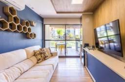 Apartamento Térreo em muro alto com 2 quartos mobiliado!