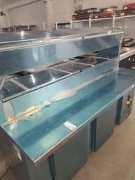 balcão condimentadora refrigerado pronta entrega *douglas