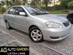 Título do anúncio: Toyota Corolla 2005 Blindado n3a Xei 1.8 aut+completíssimo+couro+novíssimo!
