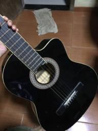 Violão Memphis elétrico preto