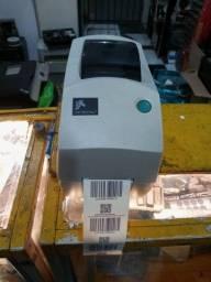 Título do anúncio: Impressora de etiqueta zebra tlp 2824 Plus
