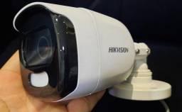 Título do anúncio: câmera colorvu full hd hikvision